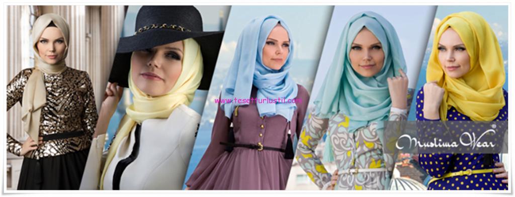 Muslima wear 2014 yeni sezon hijab koleksiyonu