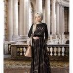 Muslima wera yeni sezon puantiyeli jakar abiye elbise