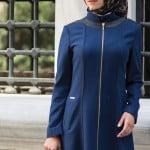 Nihle Giyim 2015 koyu mavi ferace
