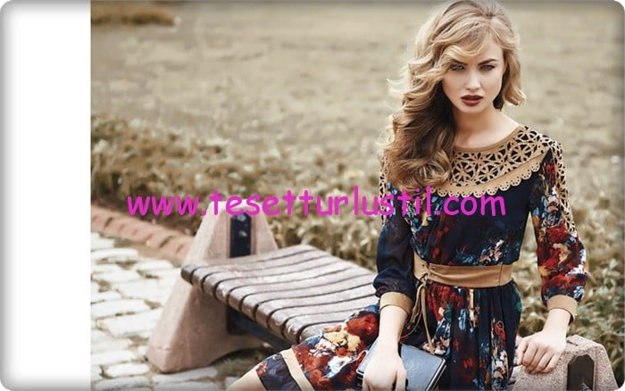 Etrucci 2015 yeni sezon elbise modelleri