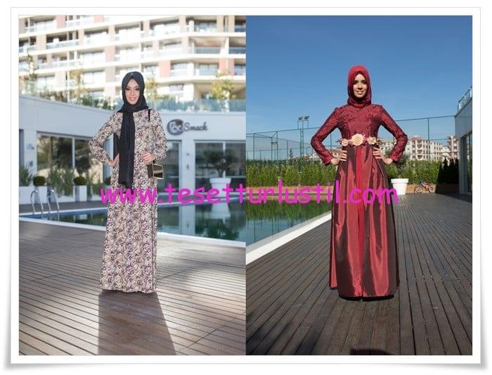 Gönül Kolat 2015 tesettür elbise modelleri