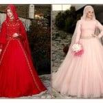 Osmanlı Moda 2015 kapalı nişanlık modelleri