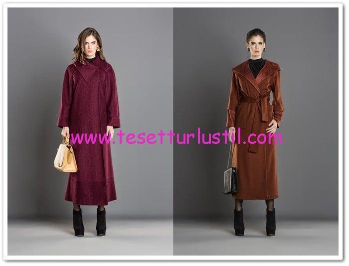 Jaade 2015 kışlık tesettür manto modelleri