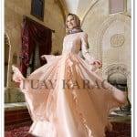 Tuay Karaca 2015 somon nişan elbisesi