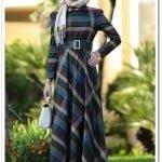 butik-simge-sivri yaka-kloş elbise-200 TL