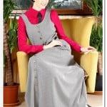 Arma Cool rondalı uzun jile elbise-100 TL