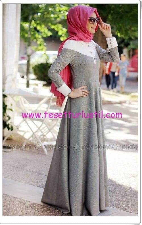 Gamze Polat kazayağı desenli vintage elbise-240 TL