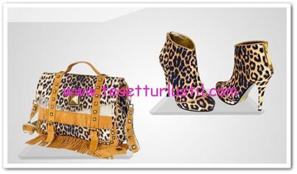 leopar-desenli-gizia-ayakkabi-çanta