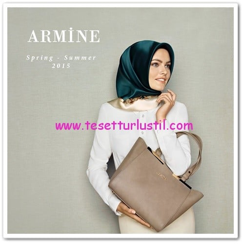 Armine 2015 vizon kol çantası