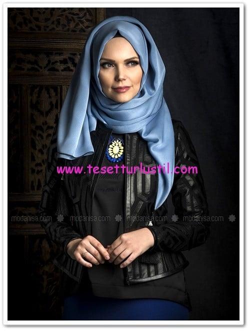 mozaik-ceket-siyah-muslima-wear-360 TL