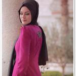 Alvina 2015 fuşya elbise