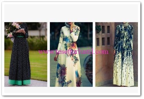Annah Hariri 2015 uzun elbise modelleri