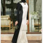 Puane boncuk işlemeli elbise-siyah-taş-250 TL