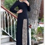 efkeyem-siyah-leopar-elbise-300 TL