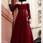 gamze-polat-bordo-elit-dantel-elbise-245 TL