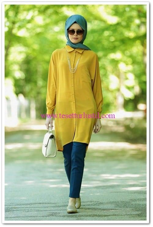 hijab-united-sivri-yaka-tunik-safran-100 TL