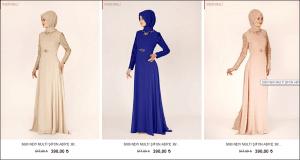 Alvina 2015 şifon abiye nişan elbiseleri