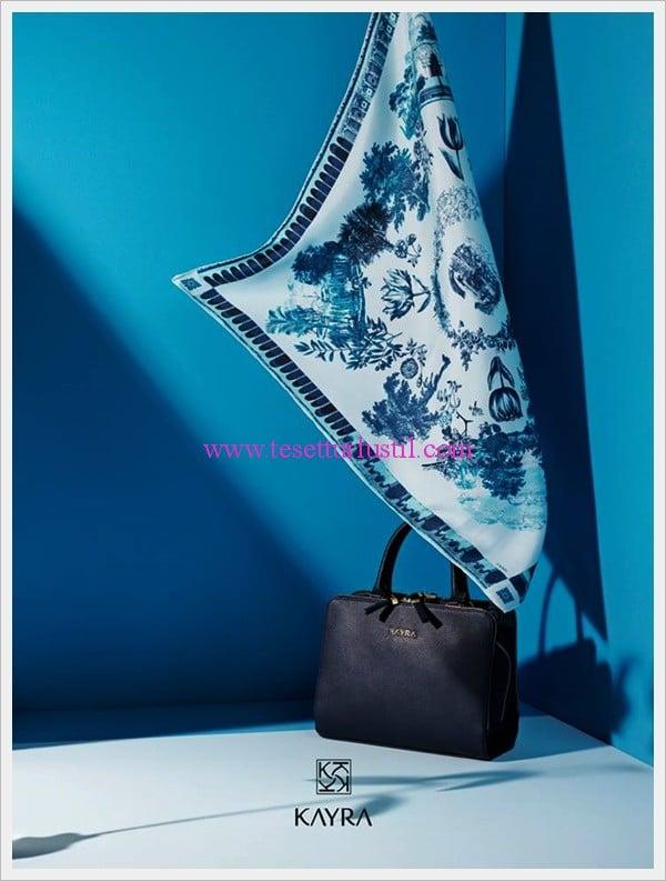 kayra 2015 eşarp-çanta koleksiyonu