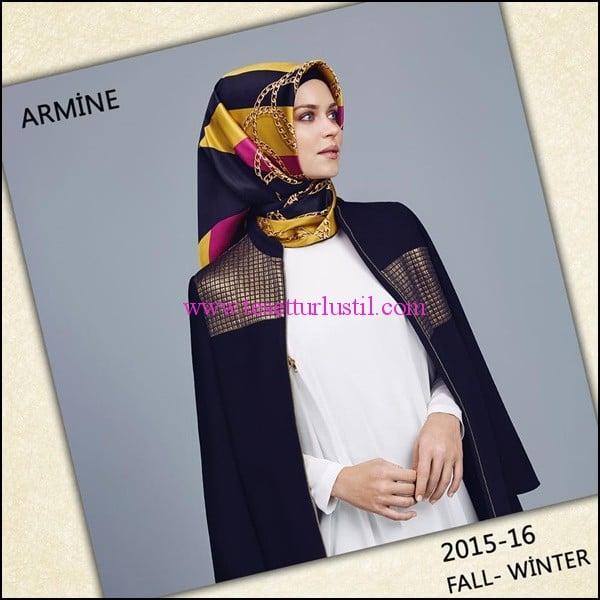 Armine 2015-2016 sonbahar-kış tesettür modası