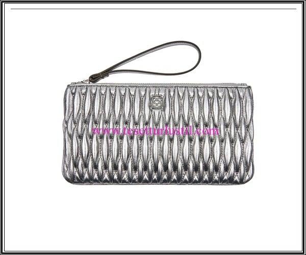 Desa 2016 gümüş deri cüzdan-el çantası-134 TL