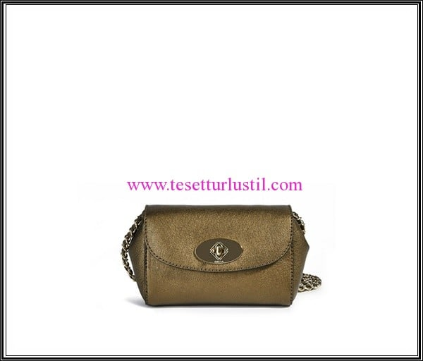 Desa bronz abiye kol çantası-339 TL