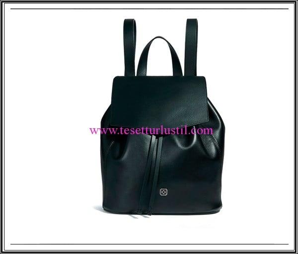 Desa yeşil deri sırt çantası-599 TL