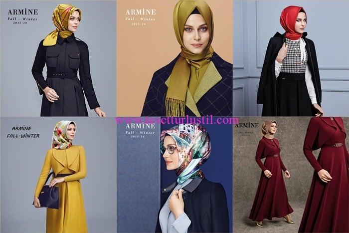 Armine tesettür giyim koleksiyonu 2016