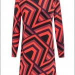 Debenhams-2015-16-Sonbahar-Kış-geometrik desenli elbise tunik