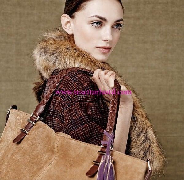 Debenhams 2016 süet çanta modelleri