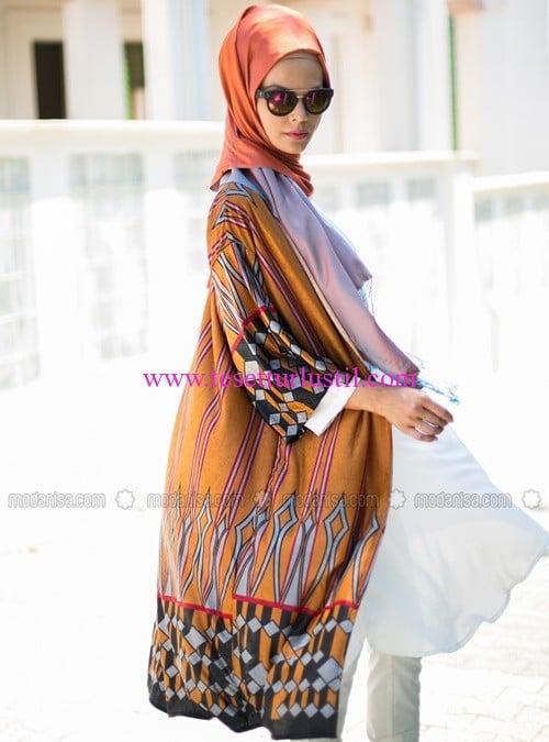 kimono-siyah-turuncu-desenli-refka-40 TL