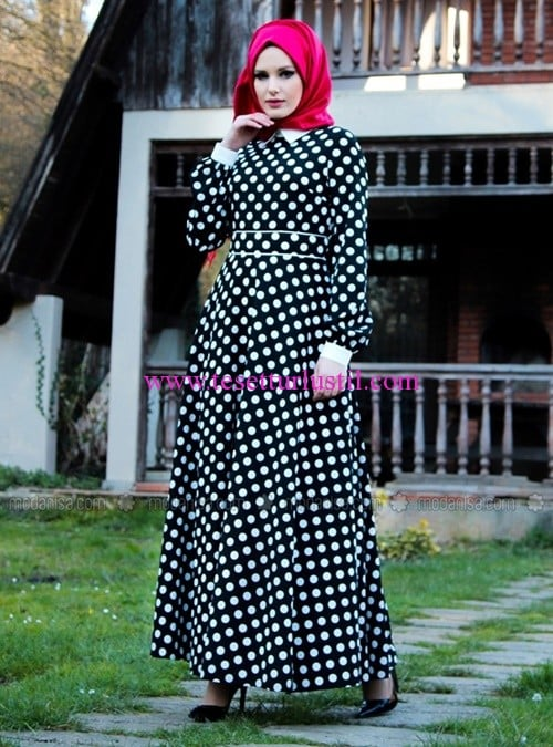 lolita-puanli-elbise--siyahbeyaz--mustafa-dikmen-99,90 TL