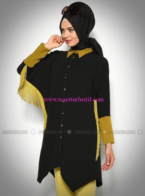 yarasa-kol-puskullu-tunik-siyah-modesty-45 TL