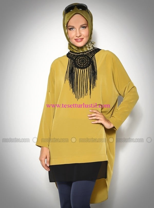 yarasa-kollu-tunik-olive-modesty-50 TL