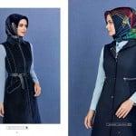 Armine 2016 lacivert yelek modelleri