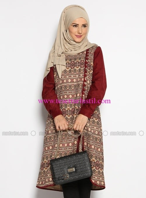 etnik-desenli-nubuk-tunik-bordo-cml-collection-100 TL