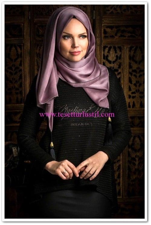 muslima-wear-yazılı örme bluz-siyah-120 TL