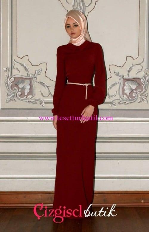 Çizgisel Butik elbise modelleri