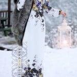 Annah Hariri çiçekli elbise modelleri