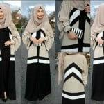 Annah Hariri colour black abaya