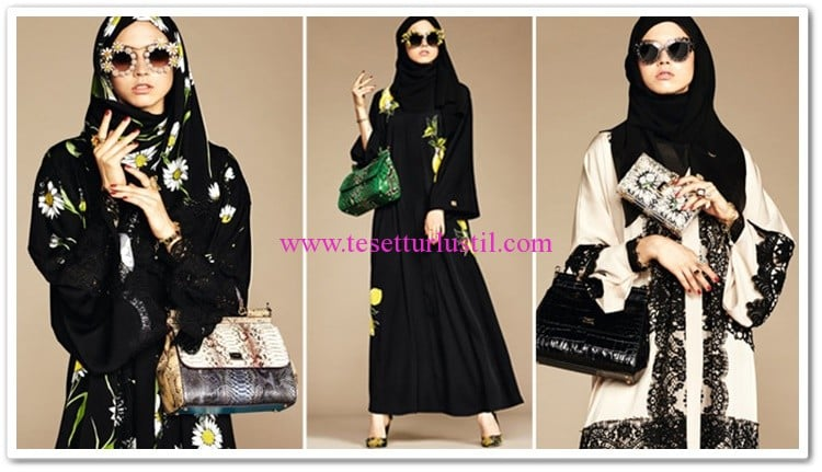 Dolce&Gabbana abaya modelleri