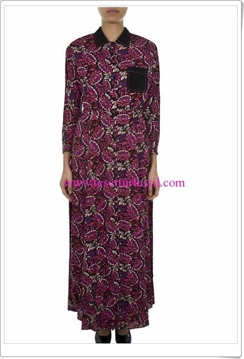 Aker çiçek desenli elbise-269 TL