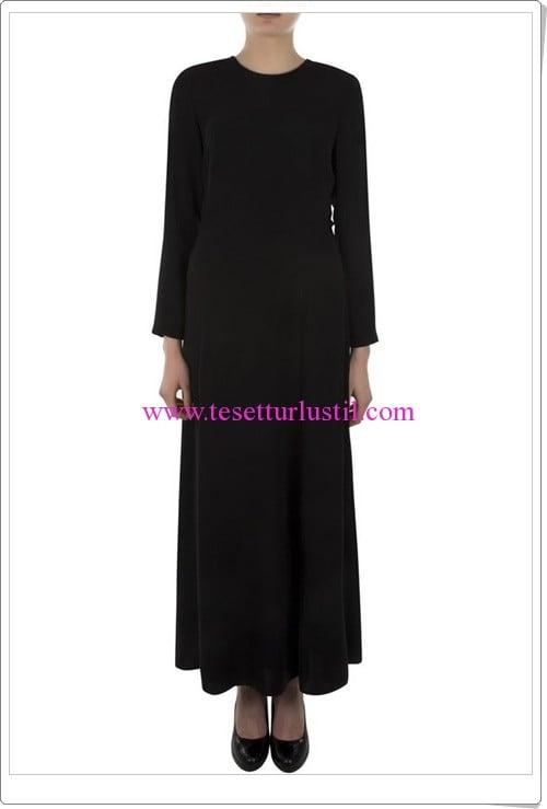 Aker siyah düz elbise-275 TL