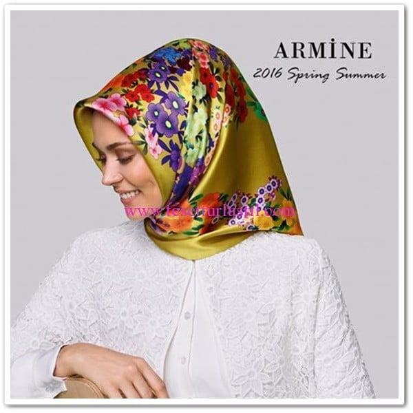 Armine 2016 ilkbahar-yaz eşarp koleksiyonu