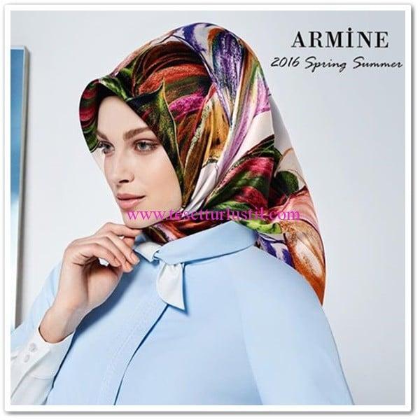 Armine 2016 ilkbahar-yaz eşarpları