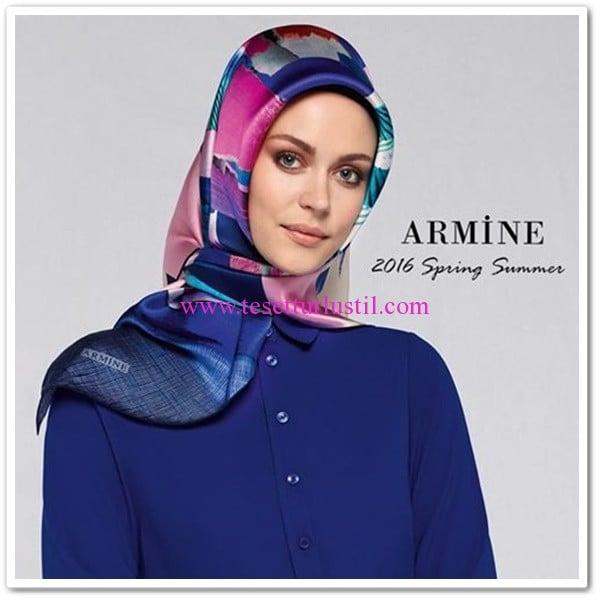 Armine 2016 yeni sezon eşarp modelleri