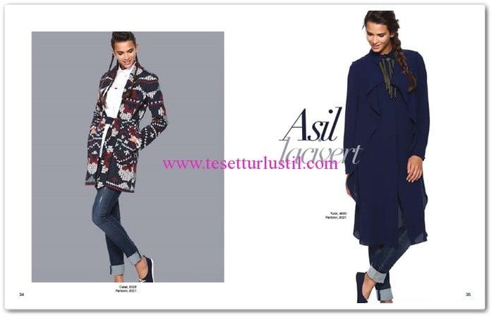 Seçil Giyim 2016 tunik-ceket modelleri