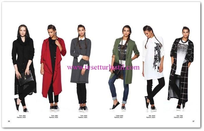 Seçil Giyim 2016 tunik-kap modelleri