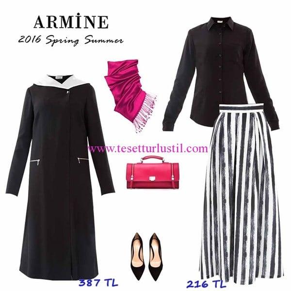 Armine 2016 ilkbahar-yaz tesettür kombinler