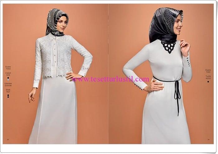 Armine 2016 yeni sezon beyaz elbise