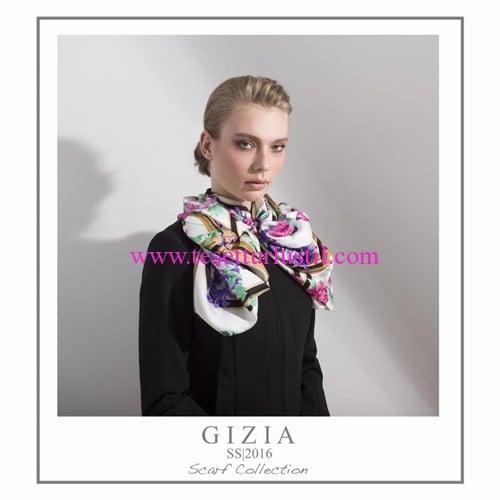 Gizia 2016 ilkbahar-yaz eşarp koleksiyonu